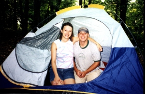 Camping as Sweethearts