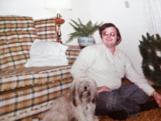 Dad with dog